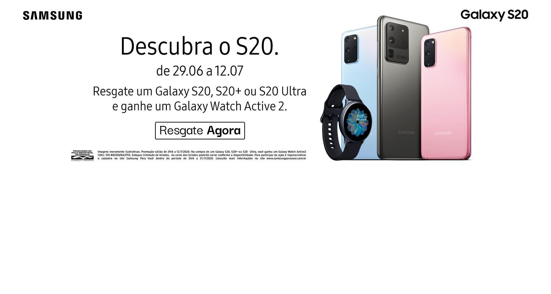Banner Galaxy S20