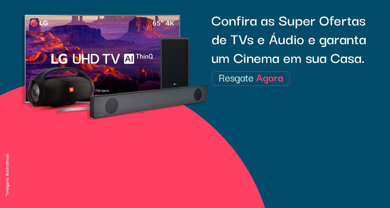 Banner TVs, Audio e Drone