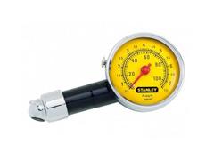Calibrador de Pressão para Pneus Tipo Relógio Stanley