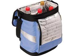 Bolsa Térmica Ice Cooler Dobrável MOR Azul com Alças 18 Litros - 3