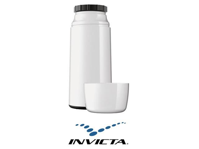 Garrafa Térmica Invicta Firenze Mini Branca 250 ml