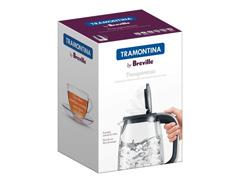 Chaleira Elétrica Tramontina By Breville Transparenza 1,7 Litros - 2