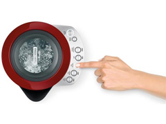 Chaleira Elétrica Tramontina Smart Vermelha 1,7 L 110V - 1