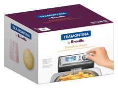 Fritadeira Elétrica Tramontina Breville Smart Aço Inox - 5