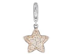 Becharmed Pavé Pingente Estrela decorado com cristal Swarovski® Azul