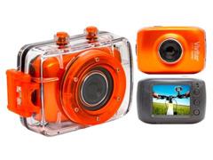 Câmera Filmadora Esportiva Vivitar HD 720p Laranja - 0