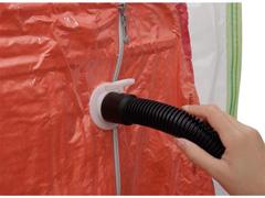 Organizador a Vácuo MOR com Gancho para 5 Peças 1,05 m X 70 cm - 2
