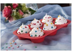 Assadeira de Silicone MOR para Cupcake e Muffin - 4