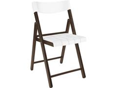 Cadeira Tramontina Potenza Madeira Jatoba Tabaco com Branco