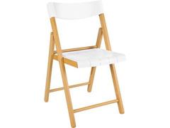 Cadeira Tramontina Potenza Madeira Tauari Tabaco com Branco