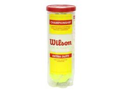 Bolas de Tênis Wilson Championship 3 Unidades