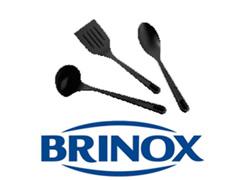 Conjunto de Utensílios Brinox Nylon Preto 3 peças - 4
