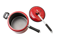Panela de Pressão Brinox Chilli Vermelha 7,5 L - 2