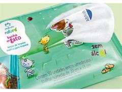Lenços Umedecidos de Limpeza Natura Naturé Banho de Gato - 50 Unidades - 1
