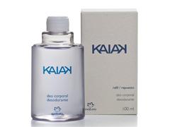 Refil Perfume/Deo Corporal Natura Kaiak Masc 100 ml
