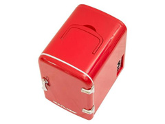 Mini Geladeira Multilaser Retrô 4L Vermelha Trivolt - 12v/110v/220v - 2