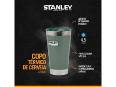 Copo Térmico Cerveja  Stanley Verde 473 Ml - 3