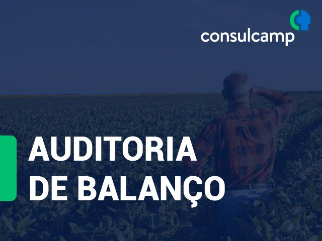 Auditoria de Balanço - Consulcamp
