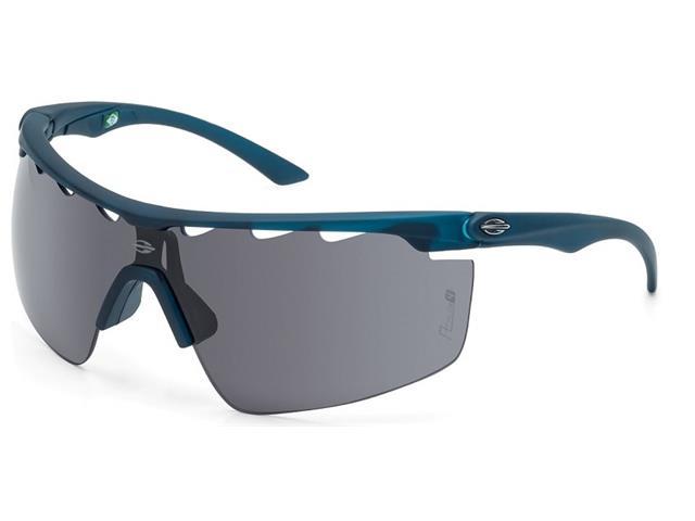 Óculos de Sol Mormaii Athlon 4 Azul Petroleo Fosco Emborrachado