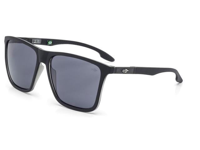 Oculos de Sol Mormaii Hawaii Preto Fosco com Translucido
