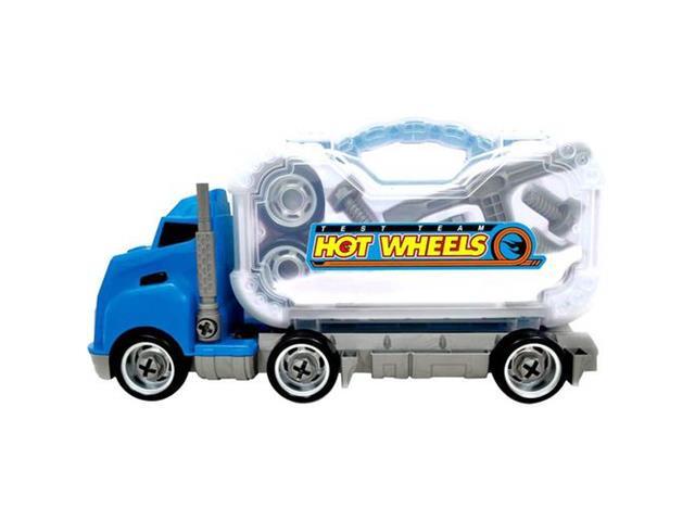 Caminhão de Ferramentas Desmontável Hot Wheels