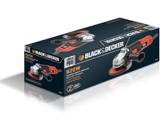 "Esmerilhadeira Angular Black&Decker 1/2"" 800W - 4"