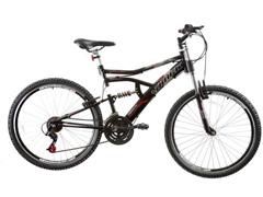 Bicicleta Aro 26 Track Bikes MTB Downhill Boxxer Full 21 V Preto