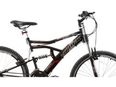 Bicicleta Aro 26 Track Bikes MTB Downhill Boxxer Full 21 V Preto - 3