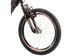 Bicicleta Aro 20 Juvenil Track Bikes XR 20 Full 6 V Preto/ Laranja - 1