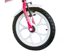 Bicicleta Aro 16 Infantil com Cesta Track Bikes Monny Pink Neon - 3