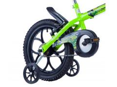 Bicicleta Aro 16 Infantil Track Bikes Dino Neon Amarelo - 1