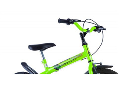 Bicicleta Aro 16 Infantil Track Bikes Dino Neon Amarelo - 3