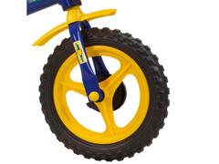Bicicleta Aro 12 Infantil Track Bikes Arco-Iris Azul/ Amarelo - 2