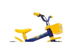 Bicicleta Aro 12 Infantil Track Bikes Arco-Iris Azul/ Amarelo - 3