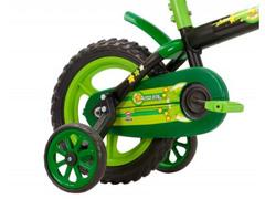 Bicicleta Aro 12 Infantil Track Bikes Arco-Iris Preto/ Verde - 1