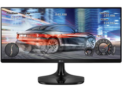 "Monitor Multitarefas LED IPS 25"" LG Full HD Ultra Wide HDMI"