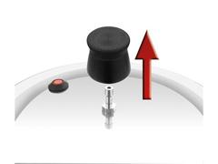 Panela de Pressão Rochedo Turbo Top Fechamento Externo 7,6 litros - 1