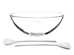 Jogo para Salada Tramontina Lapidar Cristal 3 peças