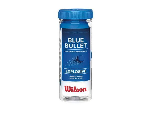 Kit Bolas de Frescobol Wilson Blue Bullet