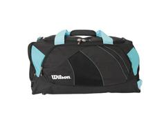 Bolsa Wilson Preta/Azul Claro