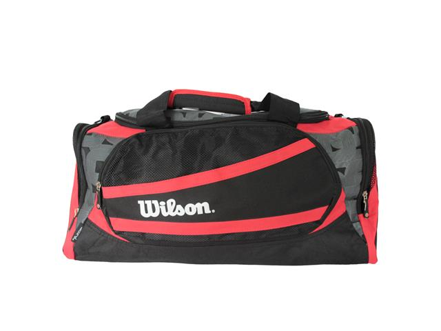 Bolsa Wilson Preta/Vermelha