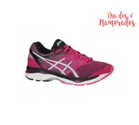 Tênis Asics Gel-Cumulus 18 Sport Pink/Aruba Blue/Black Fem