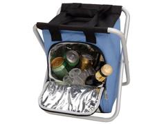 Banqueta MOR Ice Cooler Azul Dobrável 25 Litros - 1