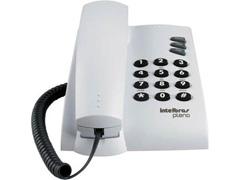 Telefone Intelbras Pleno com chave e fio Cinza Artico