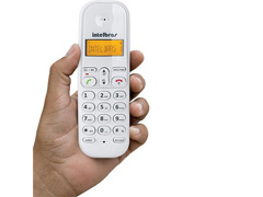 Telefone Intelbras sem Fio TS3110 ID Branco - 1