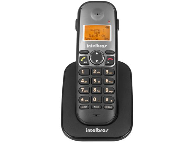 Ramal sem Fio Digital Intelbras TS 5121 Preto