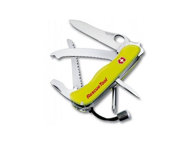 Canivete com Bainha Victorinox RescueTool 12 Funções Amarelo