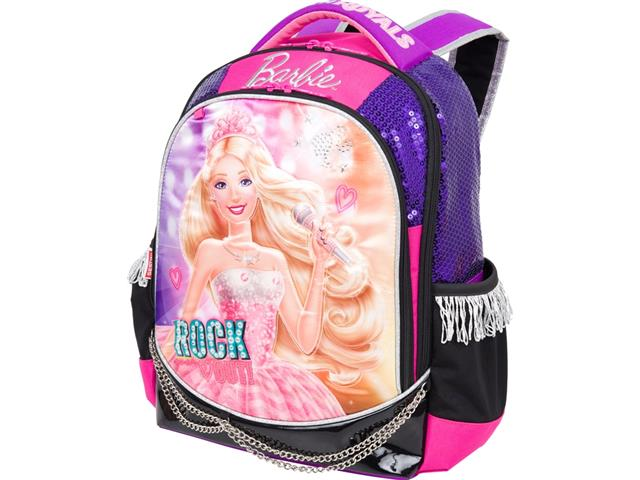 Mochila De Costas Infantil Sestini G Rock N Royals Roxa Barbie tam G
