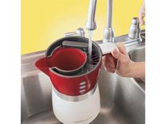 Cafeteira Elétrica Hamilton Beach Brewer 14 Xícaras Branco e Vermelho - 3