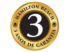 Cafeteira Elétrica Hamilton Beach Brewer 14 Xícaras Branco e Vermelho - 5